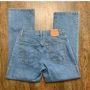 Vtg Levis 550 Relaxed Fit Bootcut High Waist Jeans